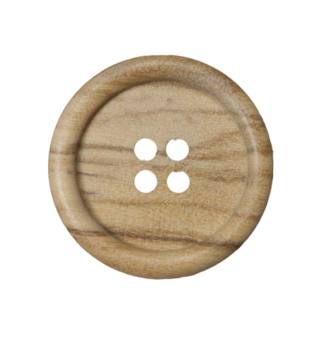 Wood button MD125