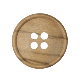 Wood button MD077