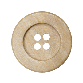Wood button MD109