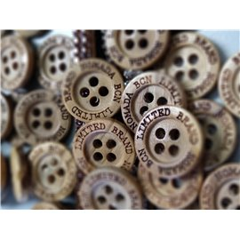 Customized Wood Button